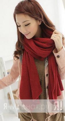 Красивые шарфы осень зима