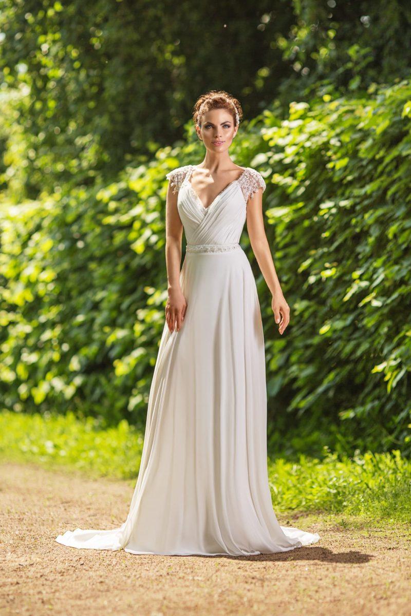 Свадебное платье ампир: изысканность и утонченность в алях