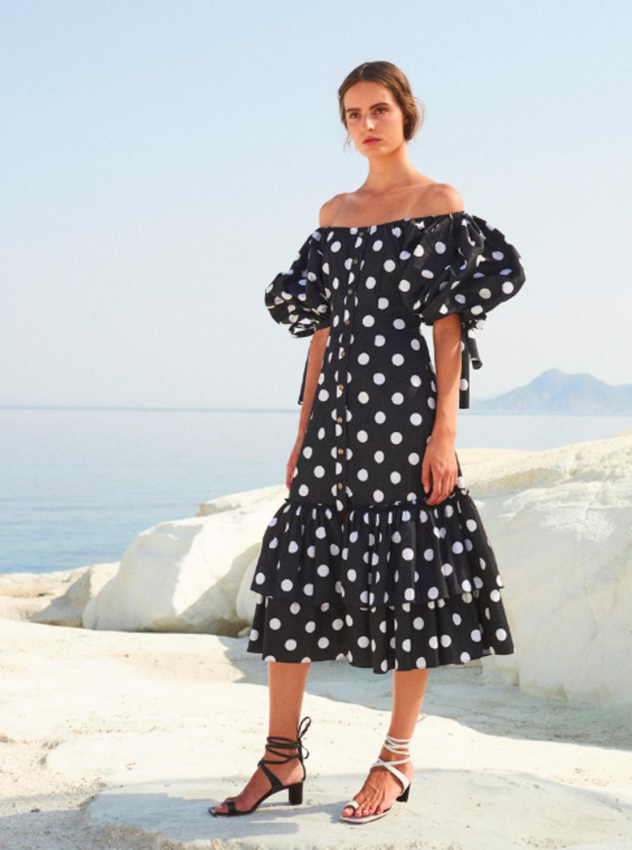 340bac98f8f Модные платья в горошек — как их носить стильно + фото