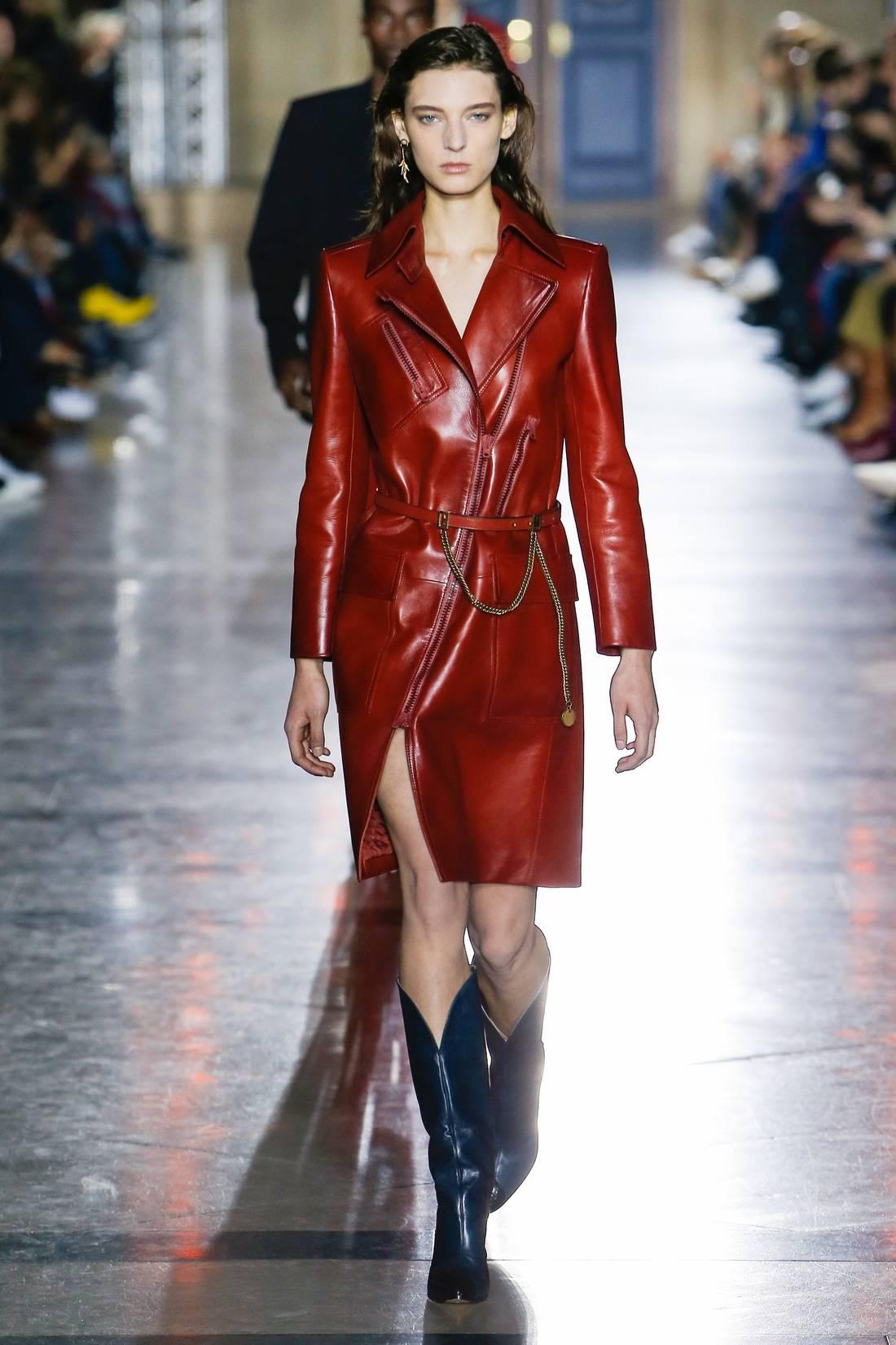крайней мере, модные кожаные женские пальто фото руках были плакаты