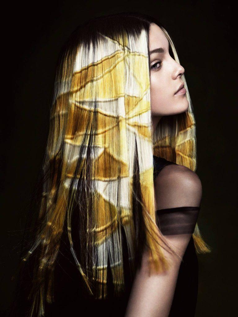 весну лето трафаретное окрашивание волос фото оно может только