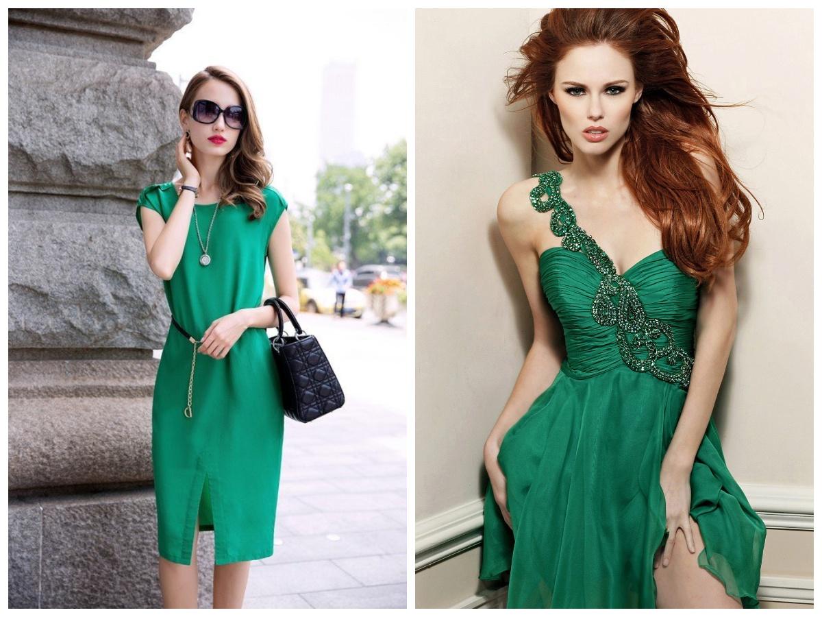 715bf751af2 Важный момент в создании привлекательного и стильного лука – неподражаемый  маникюр! Для изумрудного платья ...