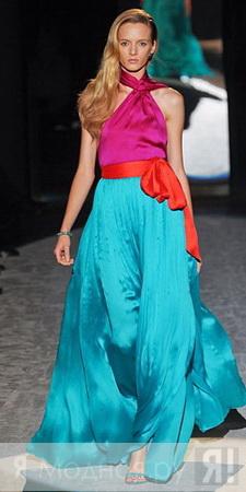 Модные платья весна-лето 2012