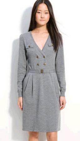 Женские тёплые платья фото
