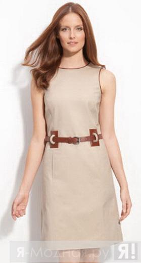 Выкройки летних прямых коротких платьев