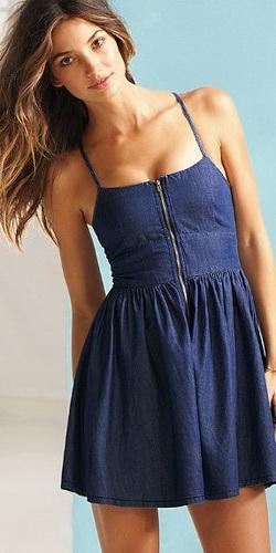 Синие платья