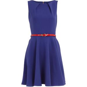 Какой ремень подойдет для синего платья