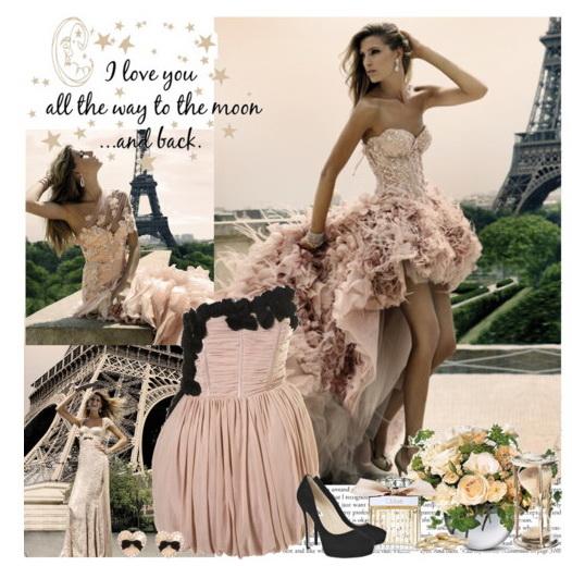 Прически для корсетного платья