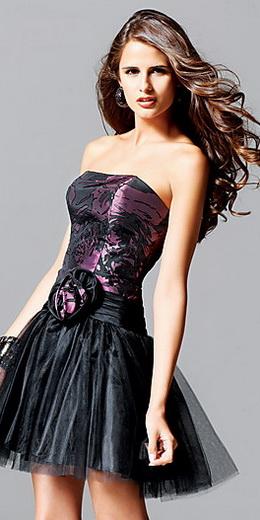 Модные платья корсеты