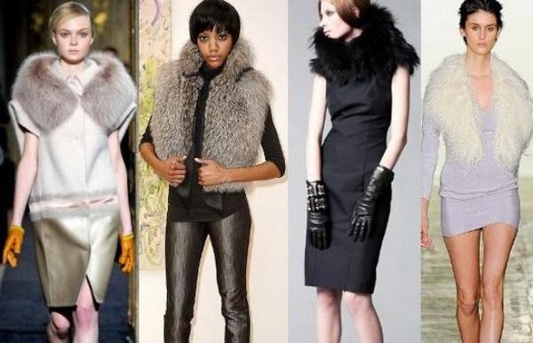 Модная Одежда Из Меха
