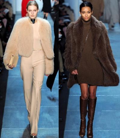 Модные шубы зима 2011-2012