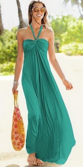 Пляжное платье 2012