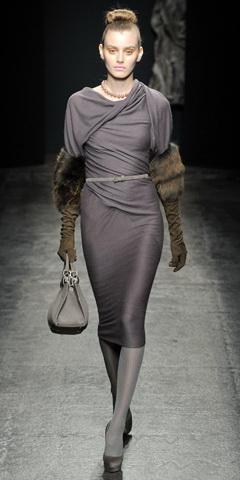 Платья осень зима 2011 2012