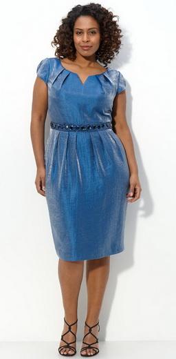 Фасоны платья с напуском