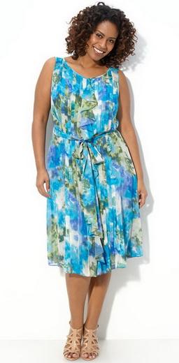 222 красивых летних платья для полных