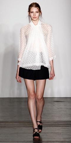 блузки 2011