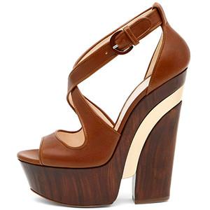 Обувь на платформе 2011