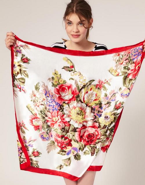 b1 Как завязать платок на шее разными способами и как красиво повязать шарфик на плечах