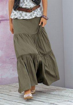 макси юбка