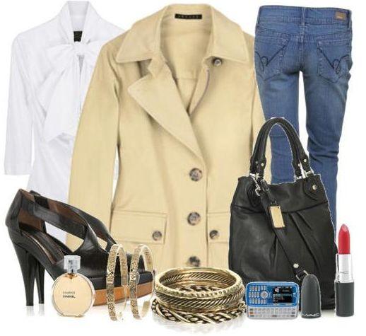 Cтиль в одежде casual - модная тенденция 2012 года.