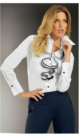 b12 Вибираємо білу блузку