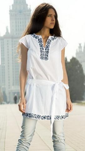 b25 Вибираємо білу блузку
