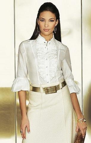 b4 Вибираємо білу блузку
