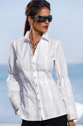 Белые блузки