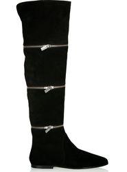 ботфорты без каблука