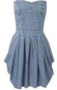 Джинсовая платье