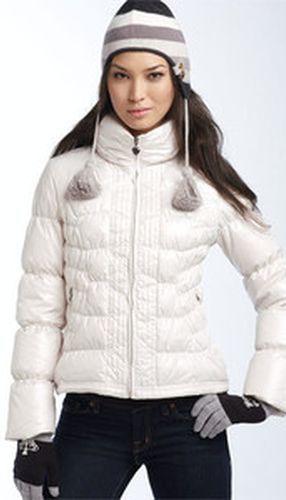 Белая куртка