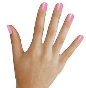 скругленные края ногти