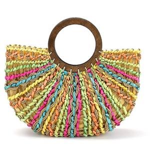 Модная сумка плетеные