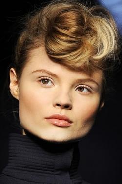 fendi bun thumb Модні зачіски: головне   різноманітність