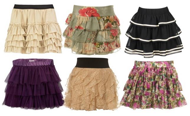 88 моделей юбок: