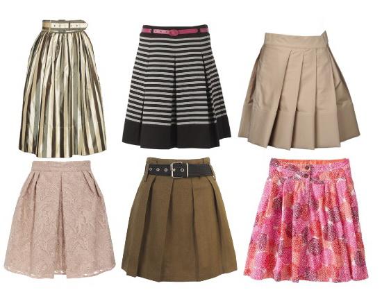 Выкройки и фасоны юбок для девочек