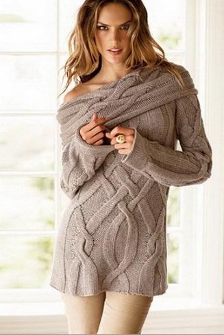 очарование вязаной кофты