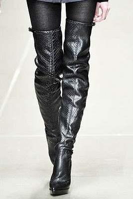 Модная обувь зима 2010 2011 150 классных