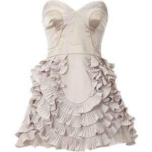 20 Короткое платье с пышной юбкой (53 фото): свадебное, на выпускной, белое, черное или розовое