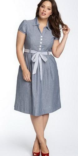 платья для полных фото
