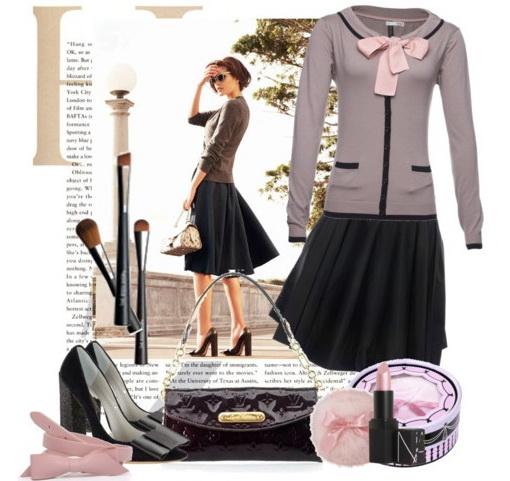 Современный английский стиль одежды