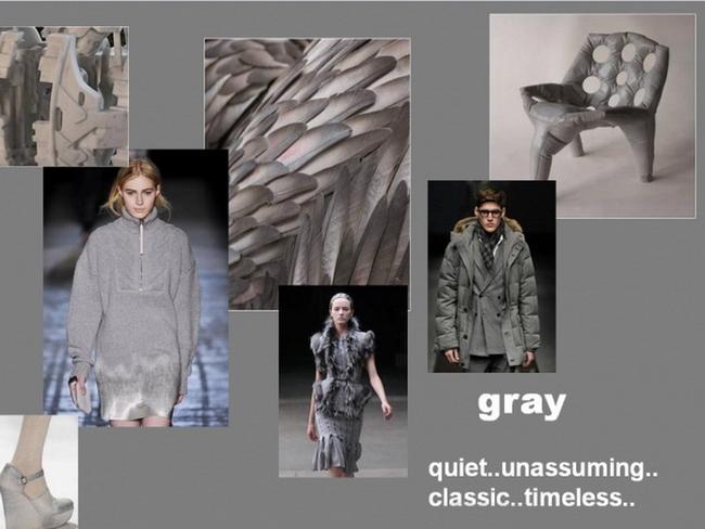 Модные цвета осень-зима 2012-2013