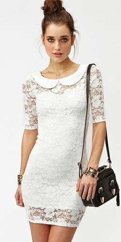 Ажурные вязаные платья хорошо