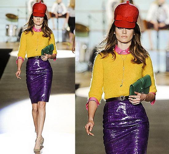 мода осень 2012 прически