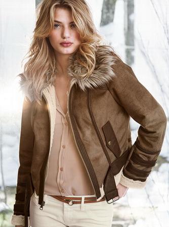 Кожаные женские куртки