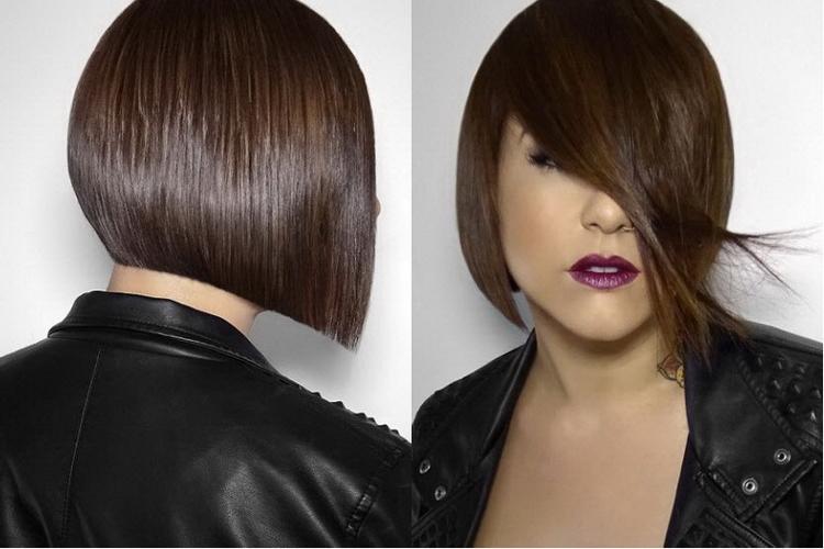 Стрижка каре на короткие волосы