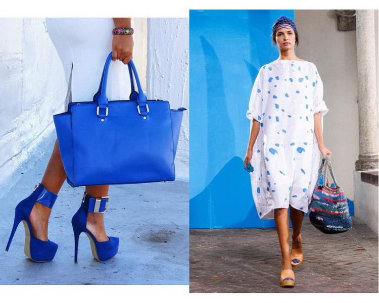 фото синяя сумка