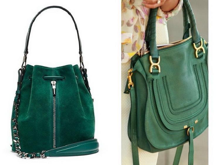 Зеленые сумки главная фишка вашего образа, фото