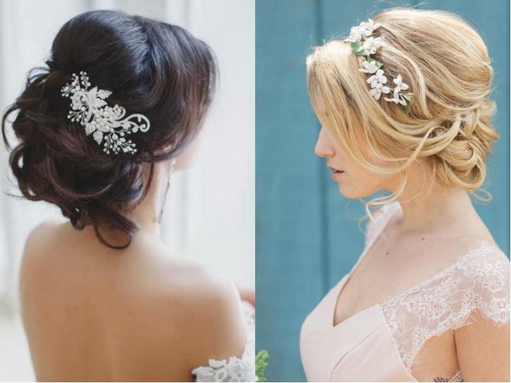 Украшения для свадебной прически невесты