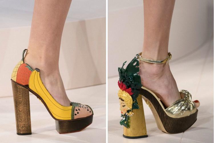 Модные осенние туфли женские на низком каблуке (50 фото)